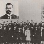 Fifty prominent Armenians of Kesaria in front of Kapi Alti prison