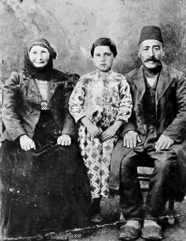Family Kourghoyan – village of Kharkh