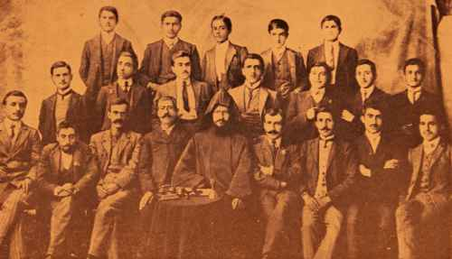 Aramian college of Sebastia (Sevaz) – 1910