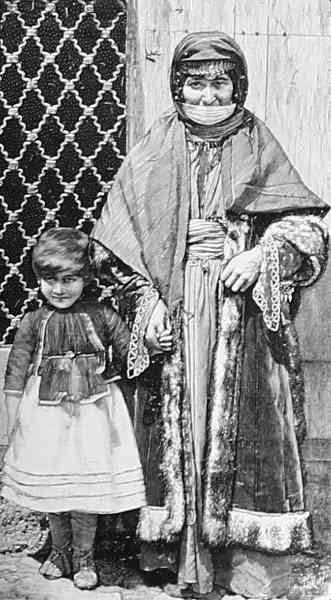 Armenian mother and daughter