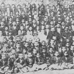 Armenian orphan boys in Hajen