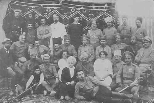 Armenian volunteers – 1916