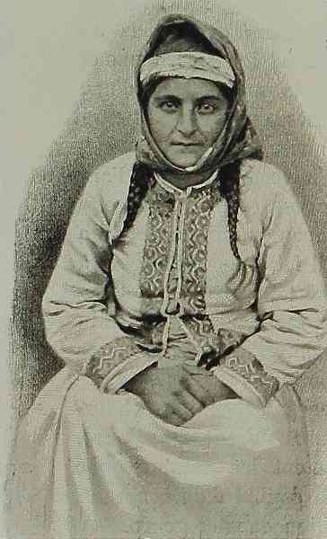 Armenian woman – Tomarza 1898