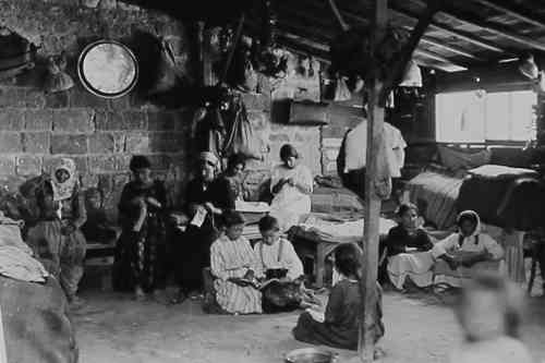 Armenian refugees in Syria 1916