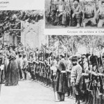 Catholicos blessing the volunteers - 1919