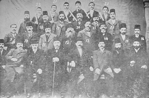 Armenian teachers and graduates – Kesaria 1903