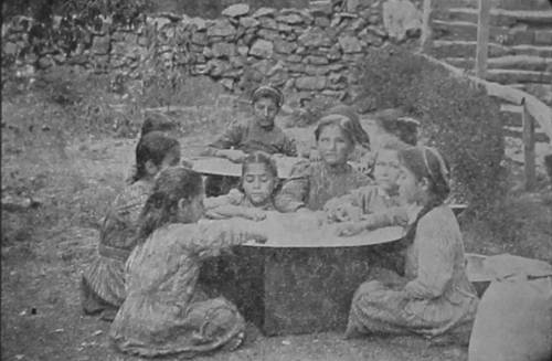 Orphan girls from Talas