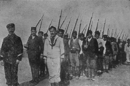 Port-Saïd The Armenian Volunteers