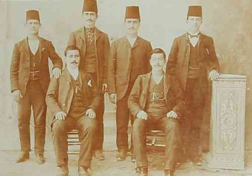 Armenian men – Sebastia 1910