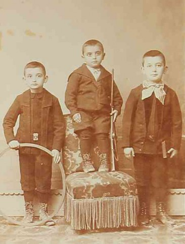 Children Constantinople 1900