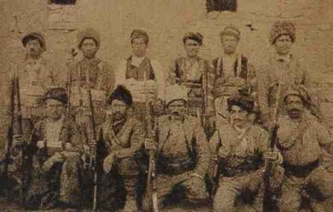 Fighters of Shahdagh mountains 1919
