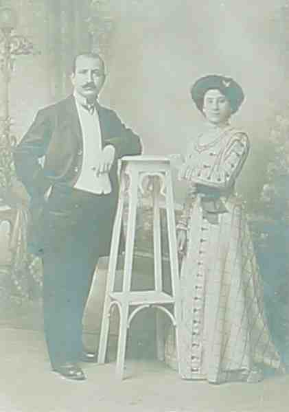 Mikael and Hayganouch Chekyan – 1905