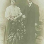 Mr and Mrs Kassapian - 1909