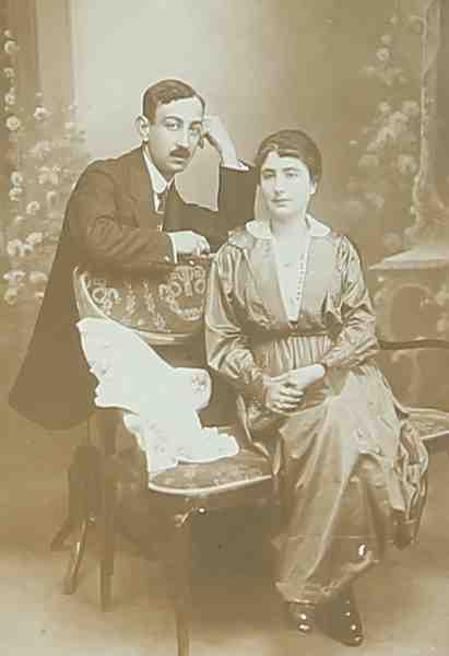 Mr and Mrs Seropian – 1919
