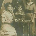 Mrs Seropian and her son Mardik - 1911