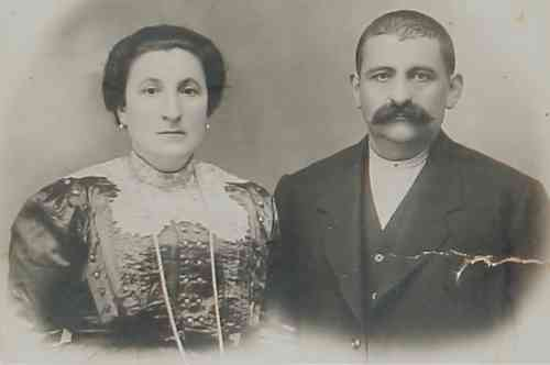 Mrs and Mr Khatchadourian – Konya 1915