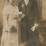 Newly married couple - Constantinople 1914