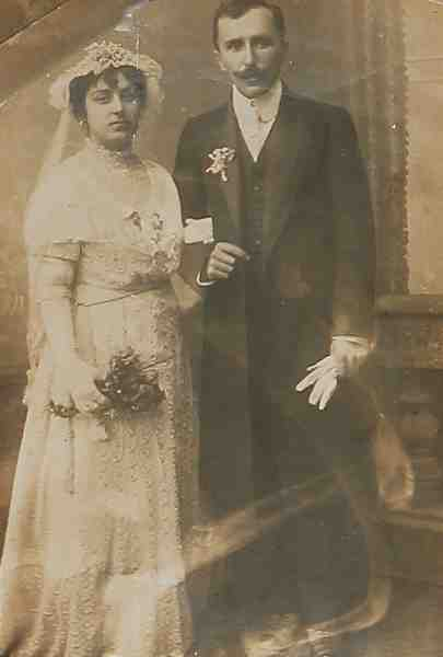 Newly married couple – Constantinople 1914
