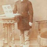 Armenian man photographed in 1885