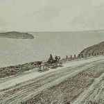 The lake and the island of Sevan in 1898