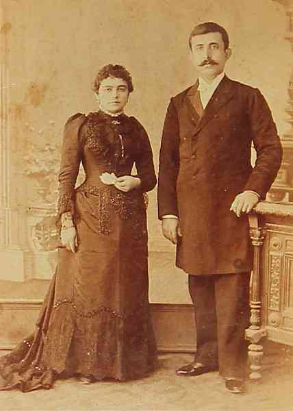 Armenian couple – Constantinople 1900