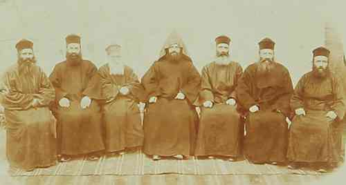 The religious leaders of the Cathedral – Sebastia 1910