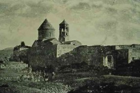 The Horomos Monastery near Ani