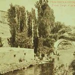 The Hrazdan River and the Palace of the Sardars near Erevan