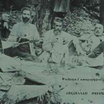 The poet Hovhannes Tumanyan and his friends