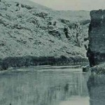 Ruins of the bridge of Ani
