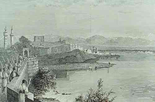 Adana and the Saros River