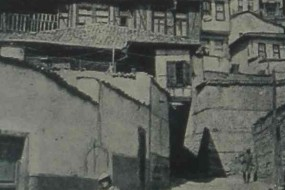 Ankara an old street – 1937