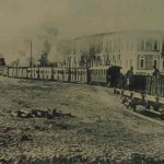 The railway station of Samson