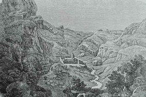 The valley of Geghard and the Ayrivank