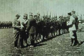 Armenian and French troops – Adana 1919