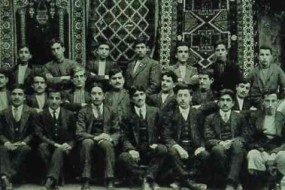 Group of Armenian men from Adana