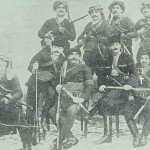 Group of fedayeen (partisans) in Kesaria