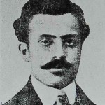 Kegham Vanigian founder of the Gaidz newspaper of the Hnchaks. Hung in Constantinople (Bolis) in 1915