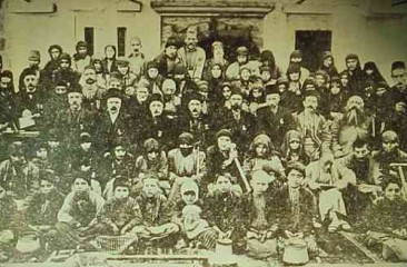 Relief committee in Kesaria – 1902