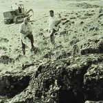 Removal of stones near Ashtarak in the northwest of Erevan during the Soviet Period