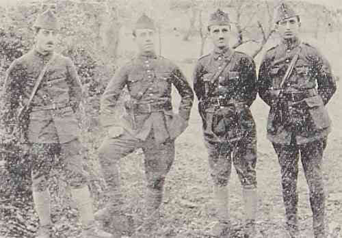 Armenian Legion officers in Marash