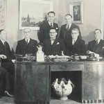 Board of the Armenian National Front - Paris 1945