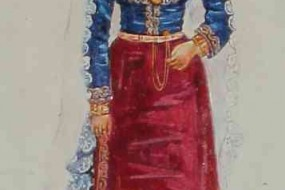 Armenian costume of Garin (alt. version)