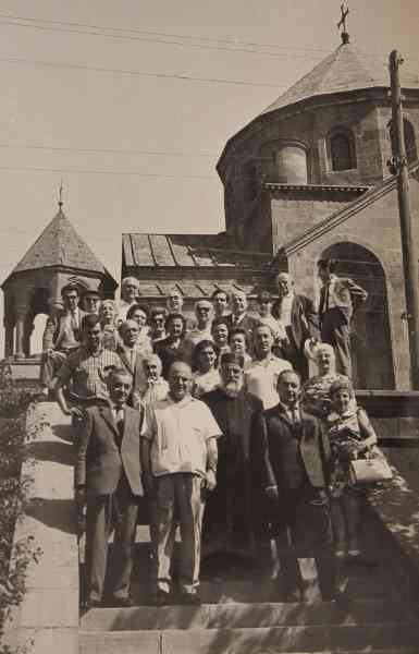 Group of intellectuals in Soviet Armenia – 1967