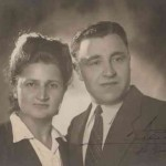 Hripsime and Kevork Donabedian from Malatia taken France 1950
