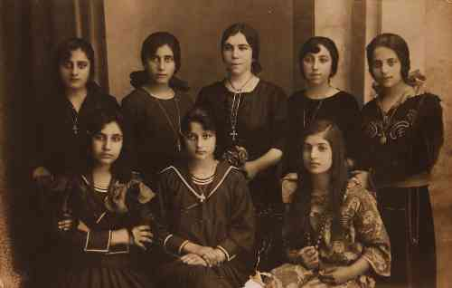 Armenian girls from Malatia – 1926