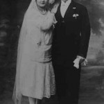 Wedding of Hripsime Koussamanoukian and Kevork Donabedian - 1927