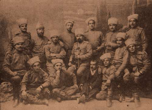 Armenian volunteers – Erevan 1916