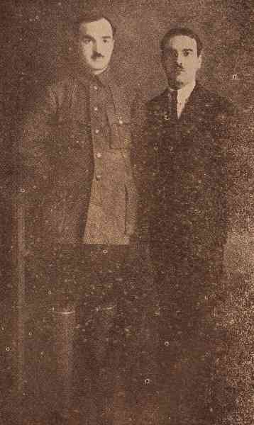 The Kajuni brothers in Tiflis – March 1913