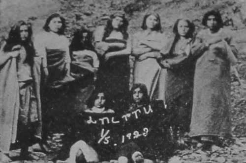 Armenian survivors from Amasia – 1923
